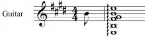 rolled chord