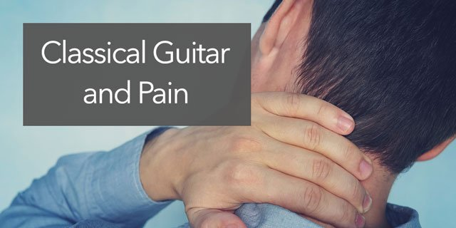 classical guitar pain alleviate pain and gain more awareness