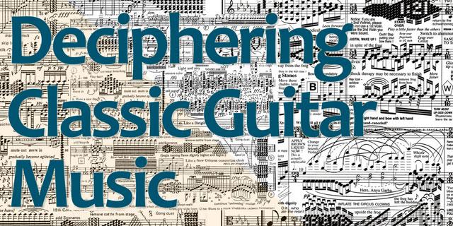 interpret classic guitar music