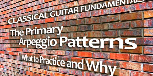 classical guitar technique right hand