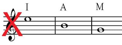awkward guitar string crossing