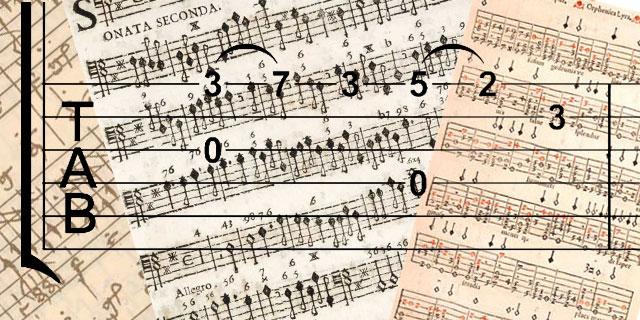 classical guitar tab
