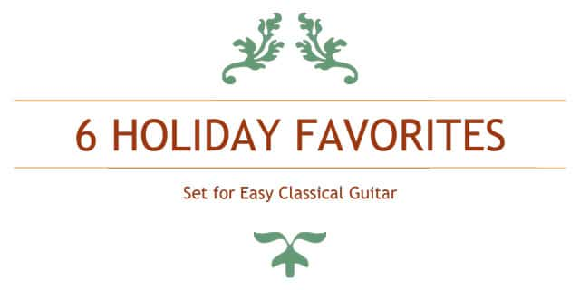 Free Classical Guitar Christmas Sheet Music (notes and TABs as PDFs)