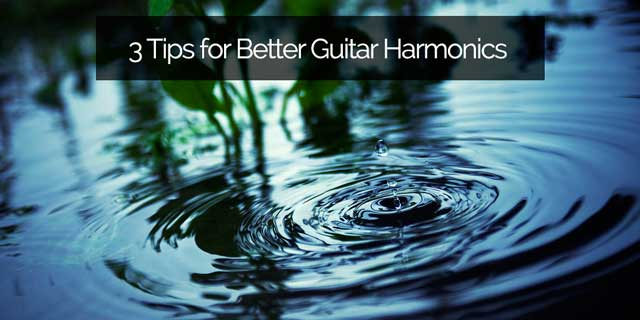 classical guitar harmonics