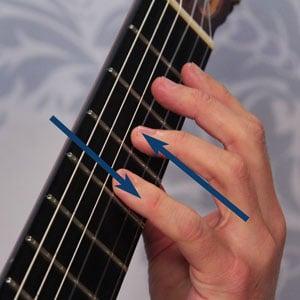 easier slurs classical guitar technique