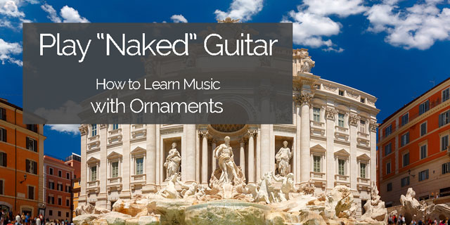 ornaments classical guitar music