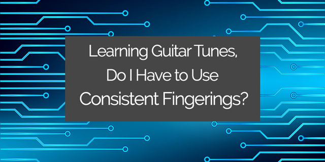 Does it Really Matter What Fingers I Use in Classical Guitar Pieces?
