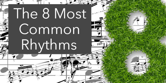 8 common rhythms classical guitar rhythm