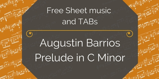 Barrios Prelude pdf free