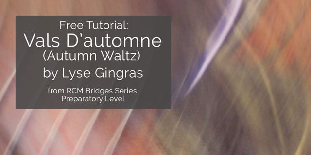 autumn waltz rcm bridges guitar lesson