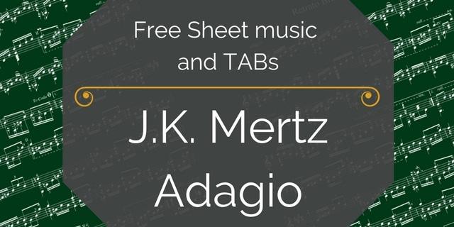 mertz free guitar pdf