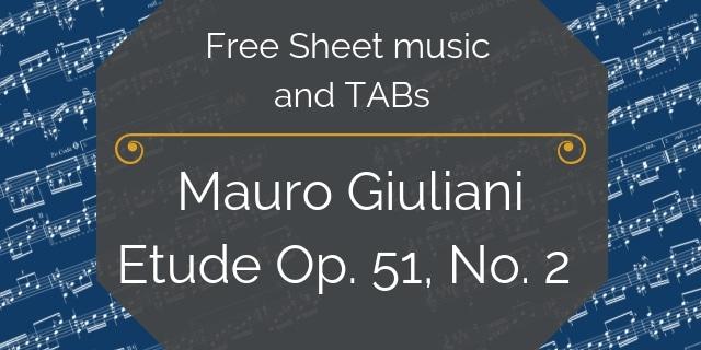 Giuliani Free Etude guitar