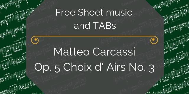 Free guitar Carcassi pdf