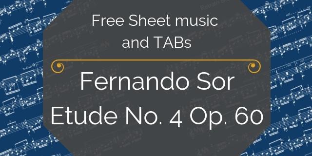 Sor guitar free music