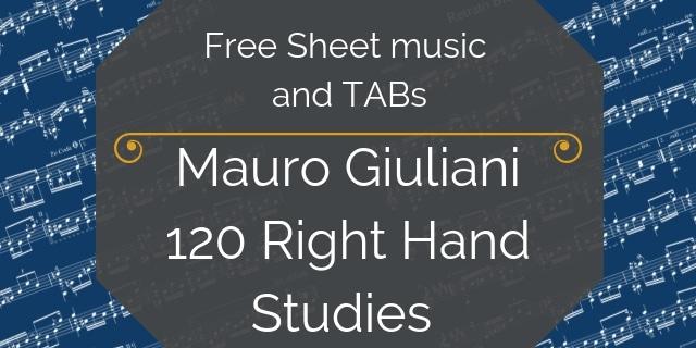 Giuliani Right Hand guitar free
