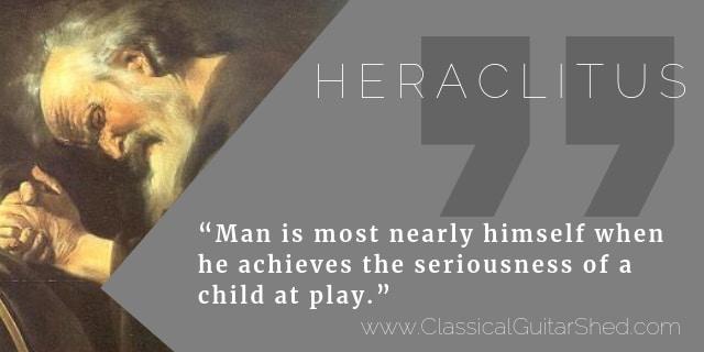 Heraclitus guitar practice