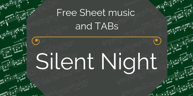 Silent Night pdf guitar